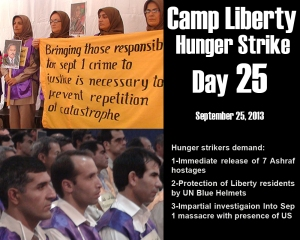 Camp Liberty Hunger Strike - Day 25