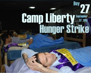Camp Liberty Hunger Strike - Day 27