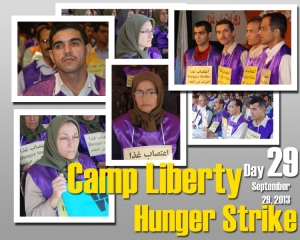 Camp Liberty Hunger Strike - Day 29