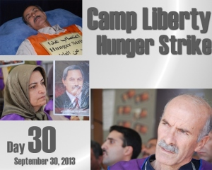 Camp Liberty Hunger Strike - Day 30