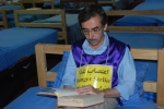 Hameed Orayzi, hunger striker in Camp Liberty
