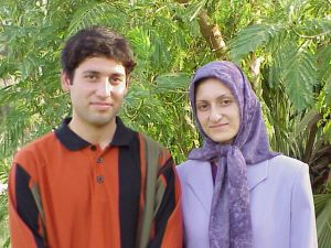 Nosrat and her brother Amir