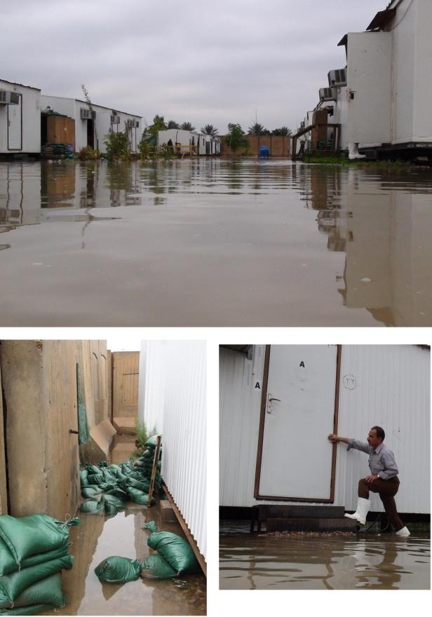 Camp Liberty Flooded - November 11, 2013