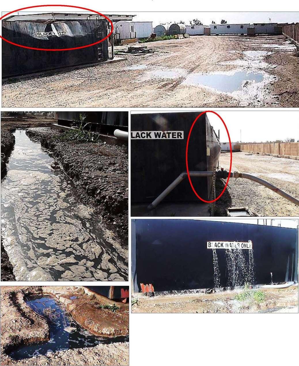 Camp Liberty sewage crisis