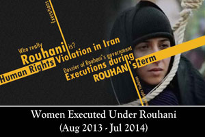 women-executed-under-Rohani