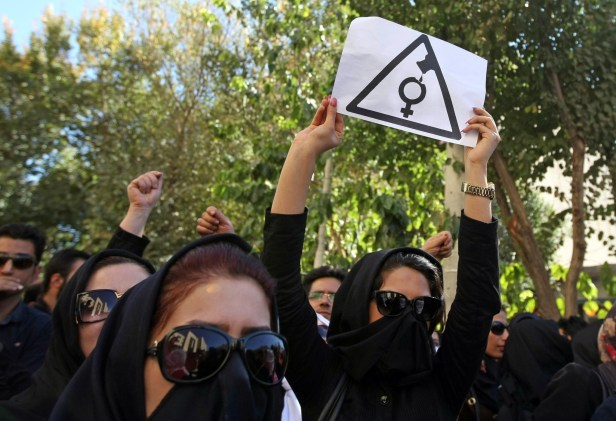 IRAN-SOCIETY-WOMEN-ACID ATTACKS