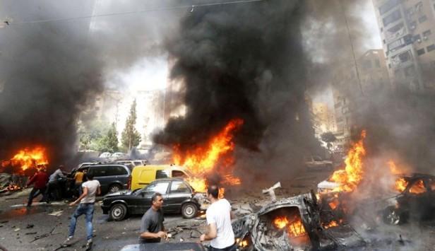 نخستین تصاویر از انفجار بیروت