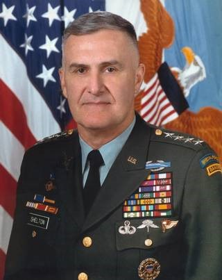 Henry (Hugh) Shelton-Chairman, Joint Chiefs of Staff HO HO